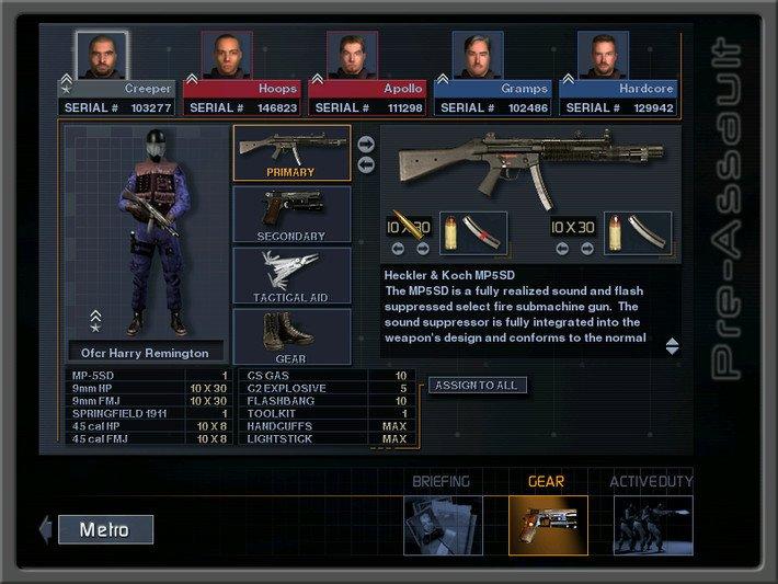 SWAT 3:年度战术游戏截图第3张