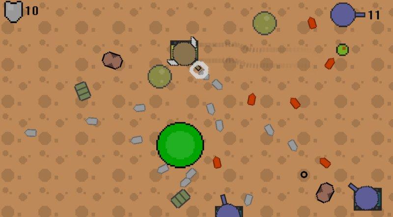 敌方坦克截图第3张
