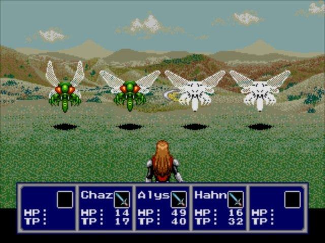 梦幻之星IV:千年的终结截图第3张