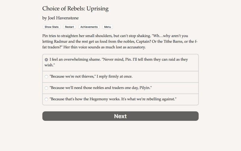 反叛的选择:起义截图第1张