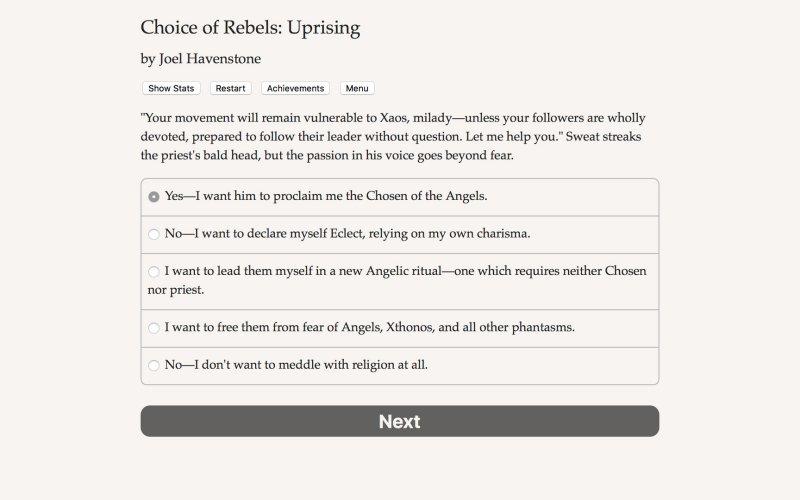 反叛的选择:起义截图第4张