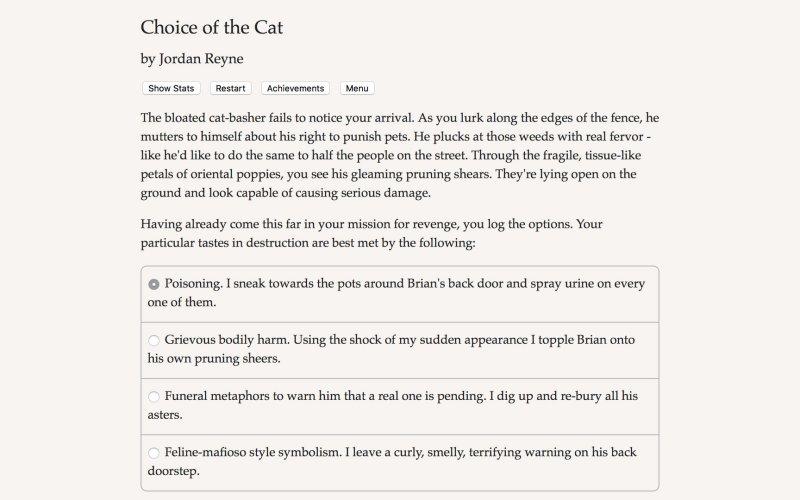 猫的选择截图第5张