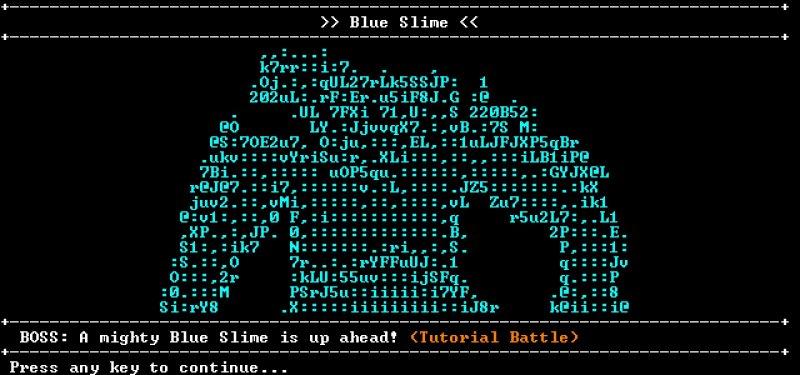 圣域RPG:黑盒版截图第1张