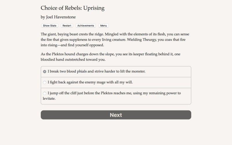 反叛的选择:起义截图第5张