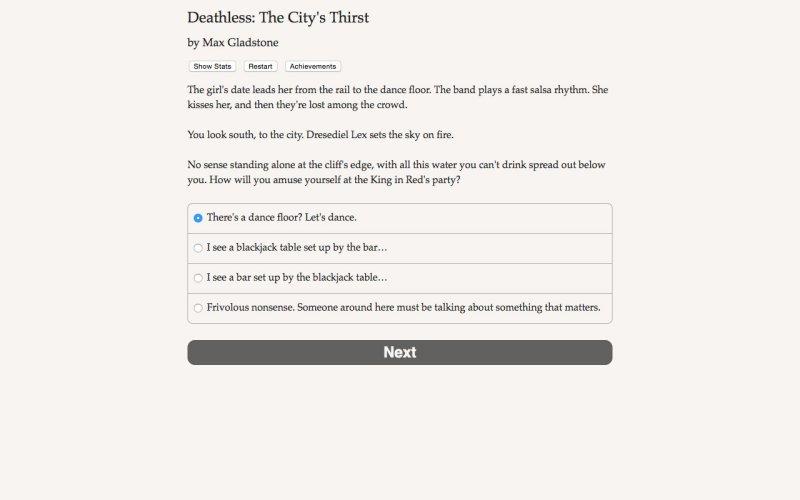 死亡:城市的渴望截图第1张