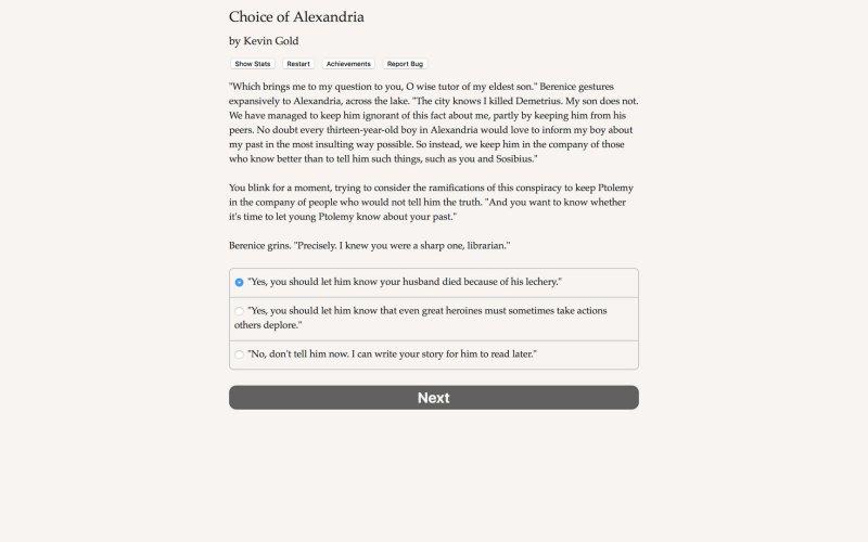 Choice of Alexandria截图第5张