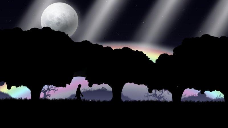 星空 蓝月截图第2张