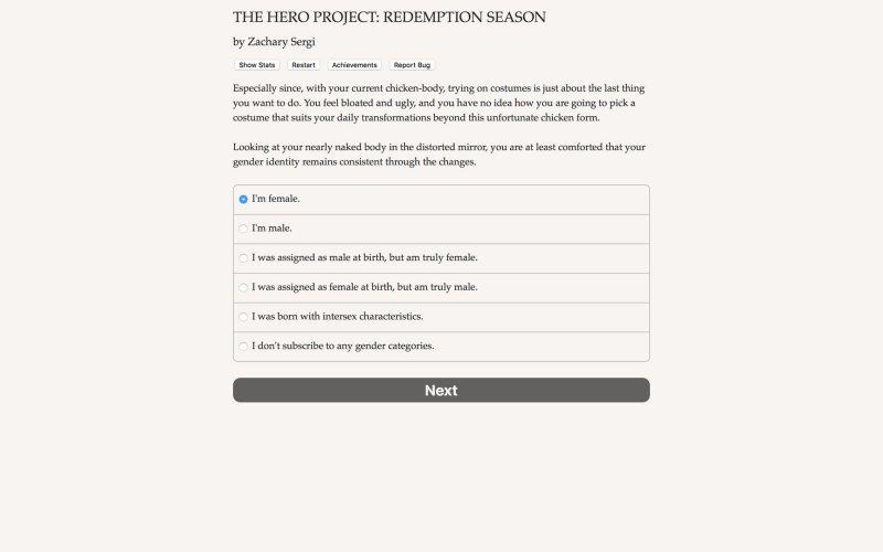 英雄项目:救赎的季节截图第1张