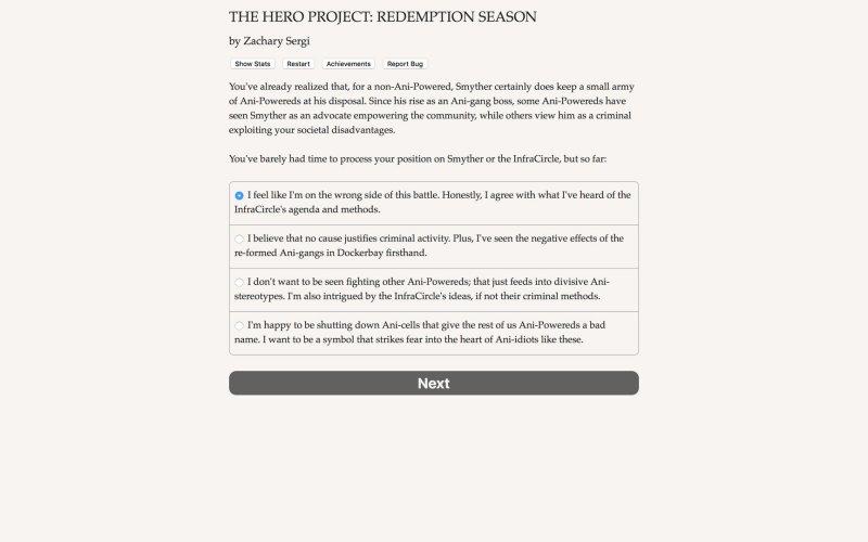 英雄项目:救赎的季节截图第4张