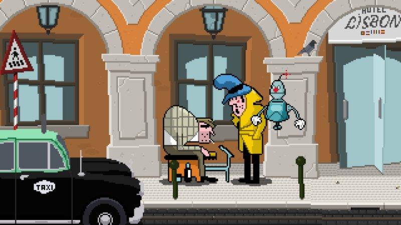 侦探案和小丑机器人:里斯本酒店谋杀案截图第3张