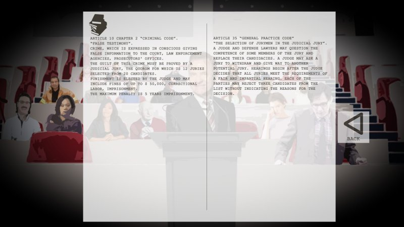 人法|法官模拟器截图第1张