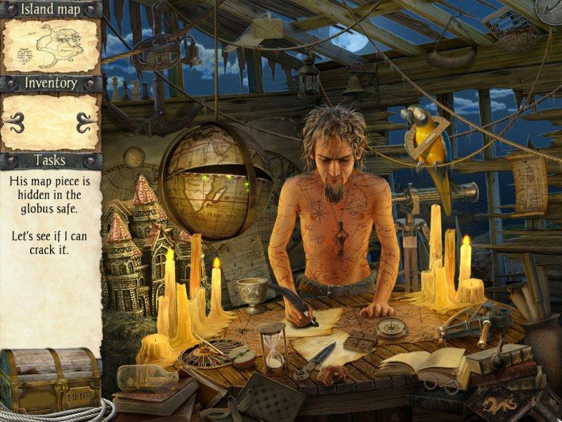 鲁宾逊漂流记与海盗诅咒截图第2张
