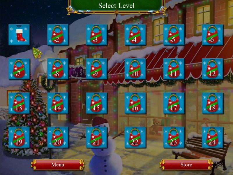 圣诞老人的圣诞接龙截图第6张