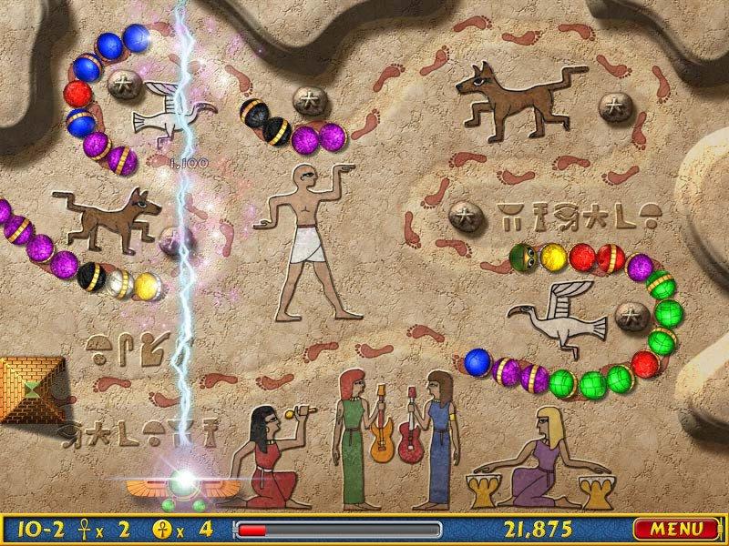 埃及祖玛之阿蒙神叛乱截图第1张