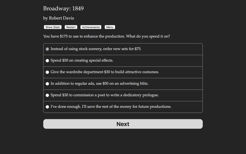 百老汇:1849年截图第2张