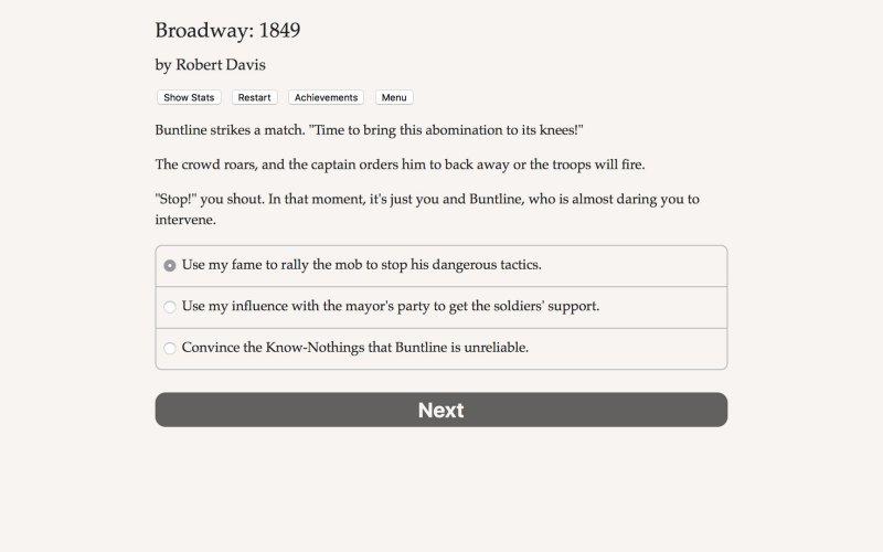 百老汇:1849年截图第5张