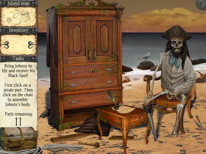 鲁宾逊漂流记与海盗诅咒截图第1张