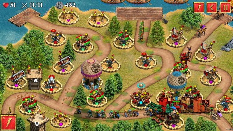 英国罗马防御战截图第1张