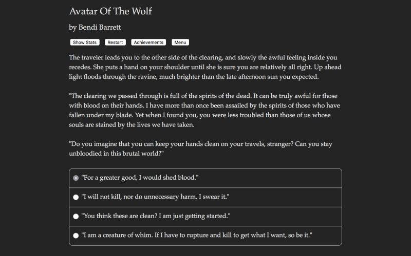 狼的化身截图第2张