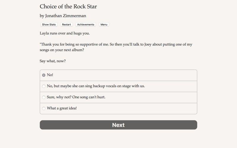 摇滚明星的选择截图第4张