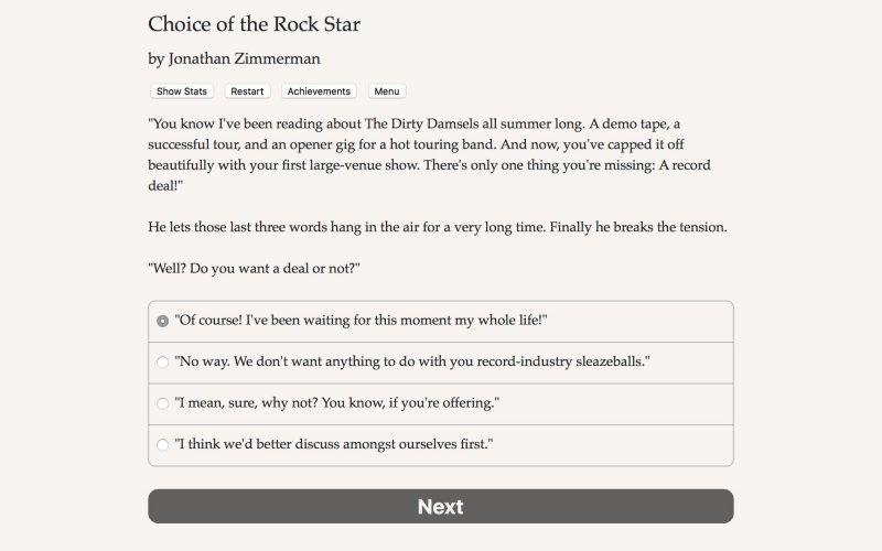 摇滚明星的选择截图第3张