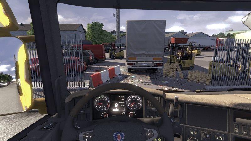 斯堪尼亚卡车驾驶模拟器截图第4张