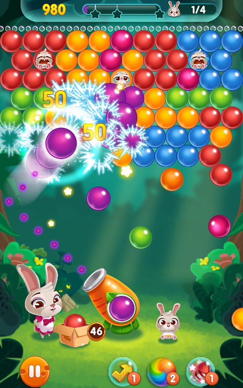 兔子泡泡龙截图第1张