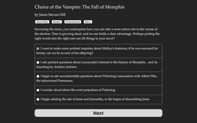 吸血鬼的选择:孟菲斯的堕落截图第2张