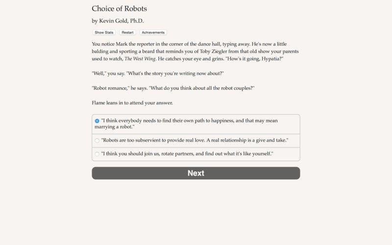 机器人的选择截图第3张