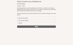 盗贼开场白:黑猫的诅咒截图