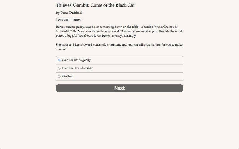 盗贼开场白:黑猫的诅咒截图第5张