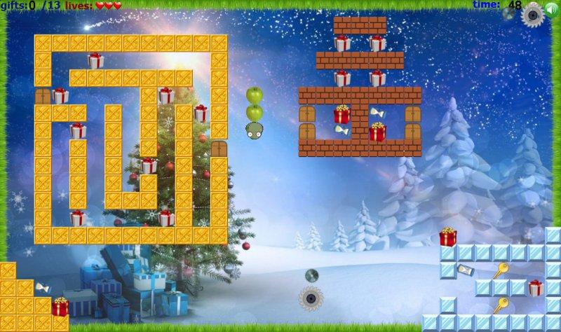 苹果蛇:圣诞故事截图第3张