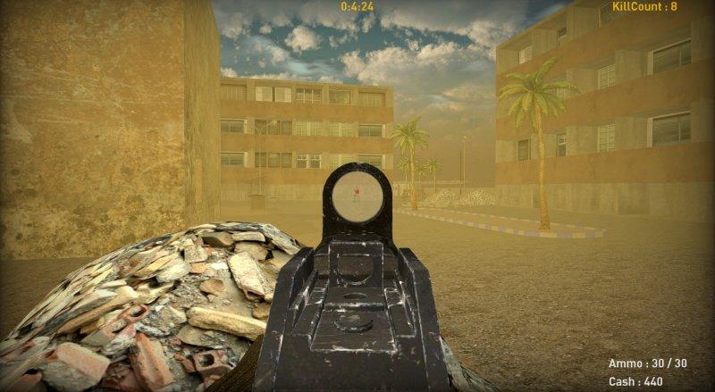 沙漠枪战截图第1张