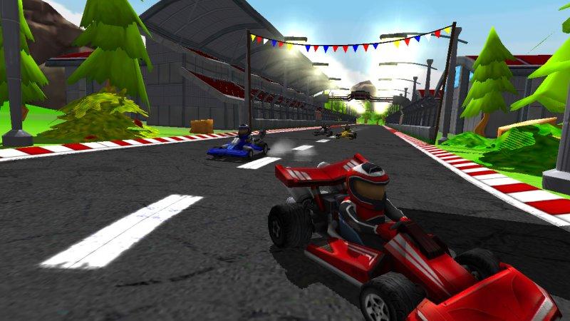 Go Kart Drive 3D截图第2张
