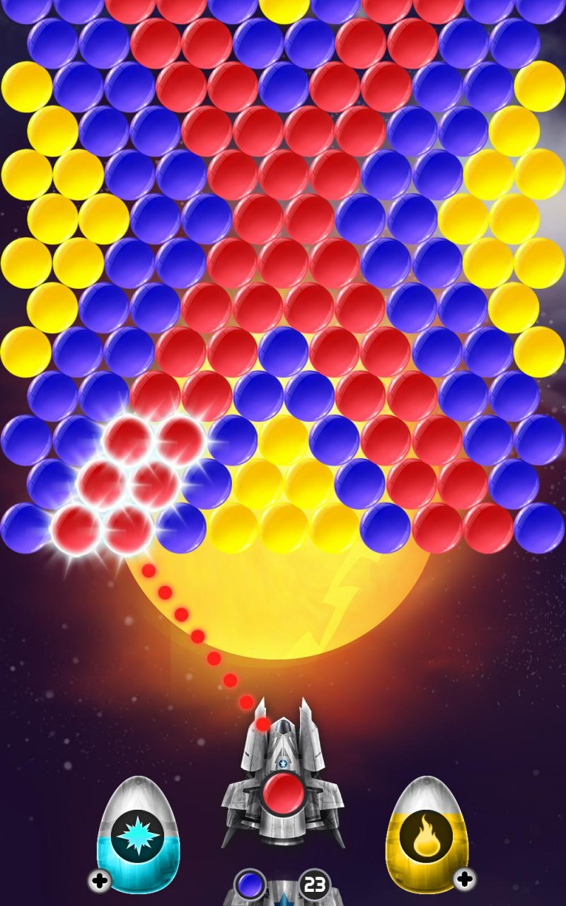Lunar Bubble Shooter截图第2张