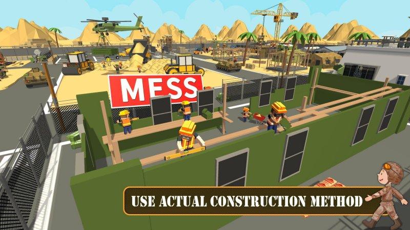 陆军基地建设:工艺建筑模拟器截图第18张