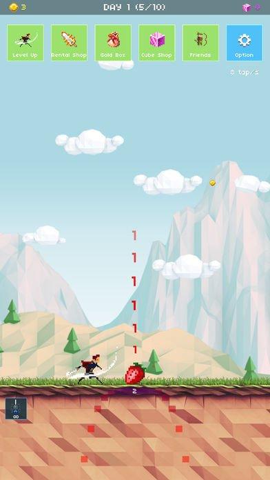 草莓英雄:冒险100天截图第4张