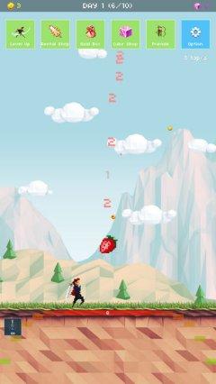草莓英雄:冒险100天截图