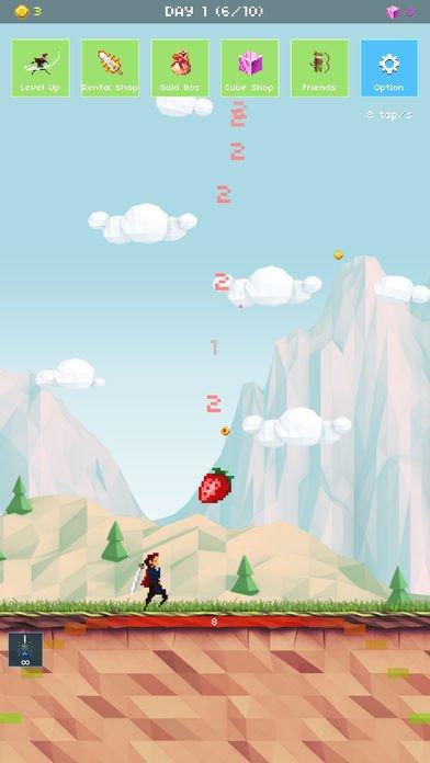 草莓英雄:冒险100天截图第5张