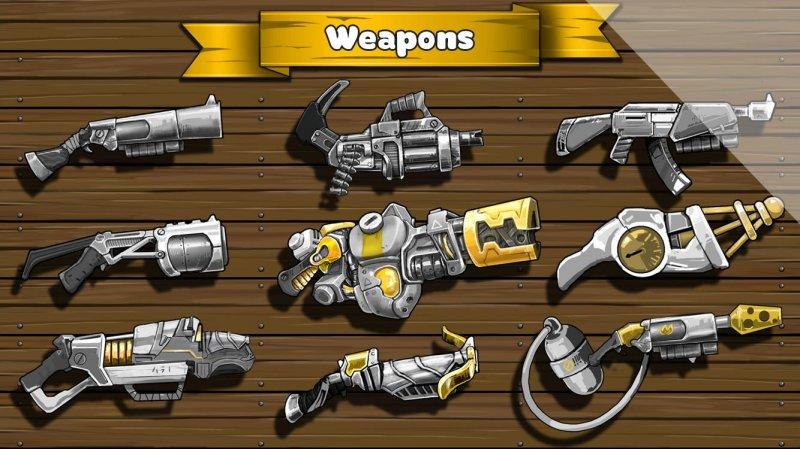 Metal Defender: Battle Of Fire截图第4张