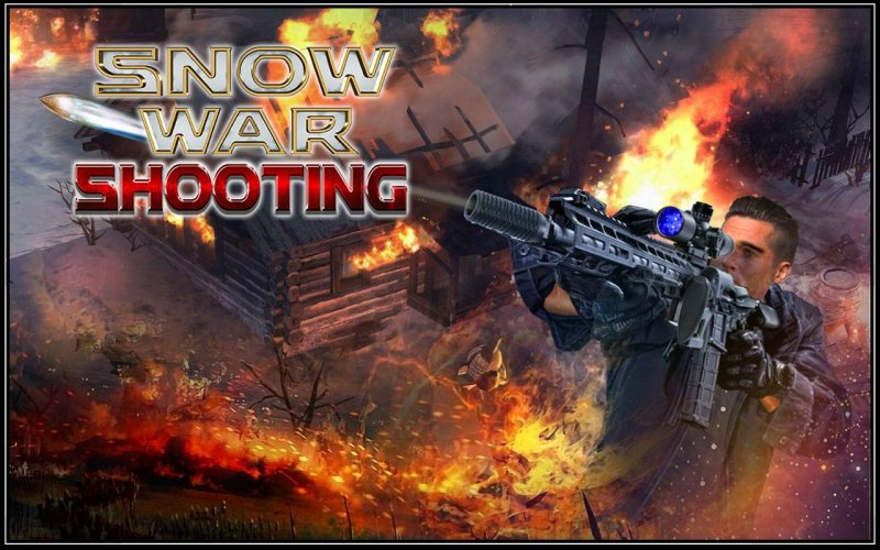 Snow War Shooter 2017截图第1张