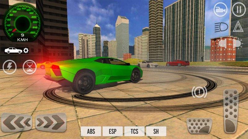 Car Driving Simulator 2017截图第1张