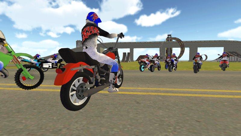 自行车骑士vs Cop Car City Police追逐游戏截图第9张
