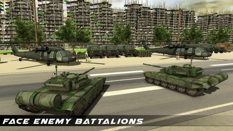 美国陆军运输游戏 - 陆军货运和坦克截图第12张