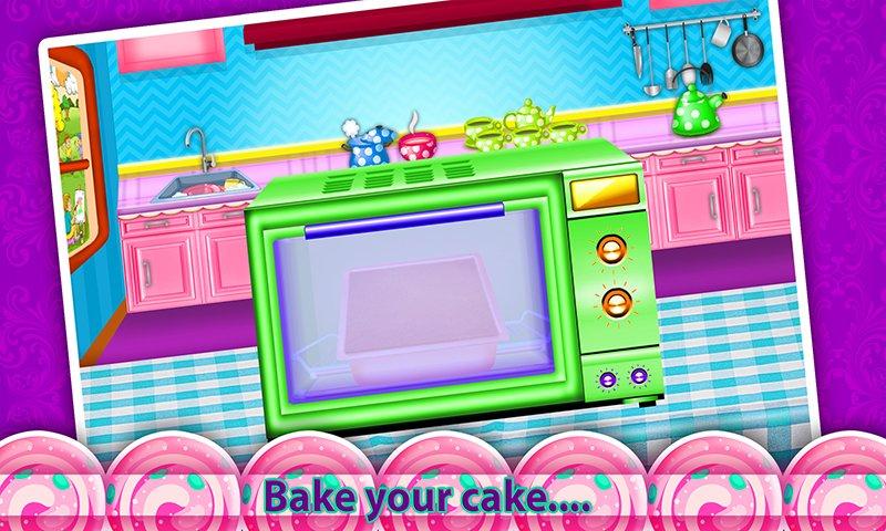 公主化妆盒蛋糕制造商!烹饪游戏截图第3张