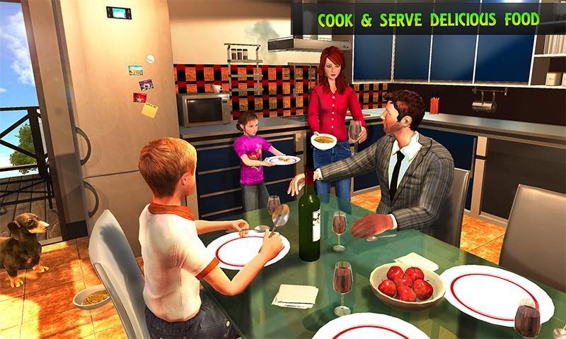 Virtual Mom : Happy Family Games截图第2张