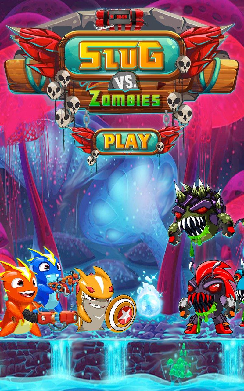 Slugs vs Zombie Ghouls截图第1张