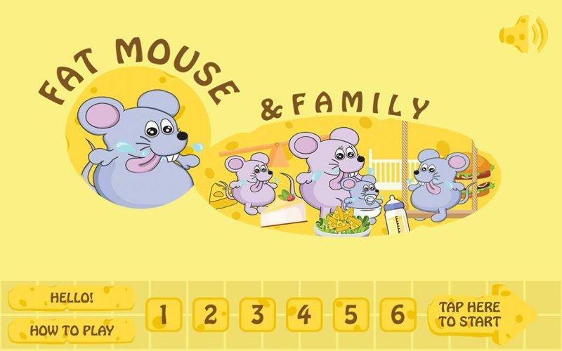 胖胖鼠家族游戏适合大人小孩截图第1张