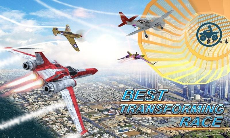 转变 种族 3D: 飞机, 船, 摩托车 &汽车截图第4张