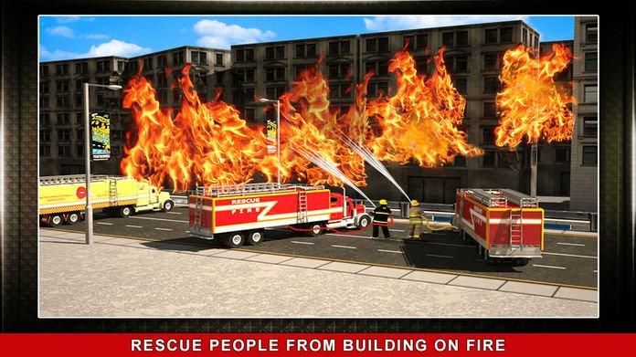 911消防卡车模拟3D截图第3张